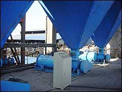 电除尘器储灰斗与粉尘加湿机安装图例